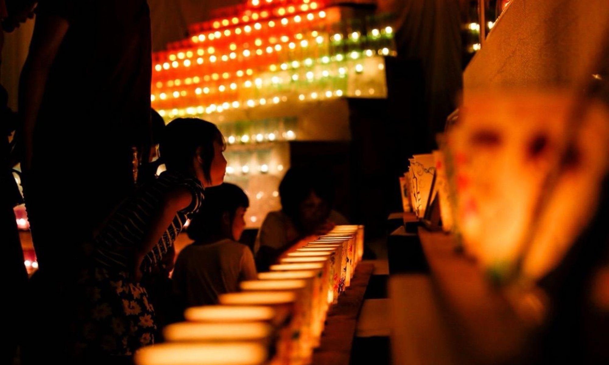 第六回 池田町六地蔵祭りとキャンドルナイト